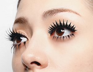 how to make spider lashes