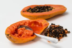 papaya teeth whitening